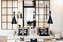 Black framed doors and windows