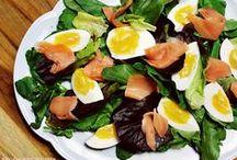 Salada salada salada / Leves, lindas e coloridas! Quem não ama uma boa (e bonita) salada??!!