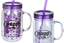Acrylic Cups / Acrylic cups with straws are the latest and greatest promotional trend! Check out all the different colors and patterns to bring lots of life to your marketing!