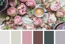 Color Palettes / Color Palettes for Ceremonies and Receptions. Wedding colors to be inspired by.
