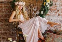bridal shower / Throw a fun bridal shower with these beautiful ideas for the bohemian bride as well as the feminine, ethereal bride!