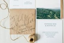 Card + Invitation Design / by Cassie Poe