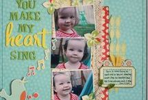 Oh Baby! Scrapbook Ideas / Scrapbook layouts and designs for your favorite baby. ♥