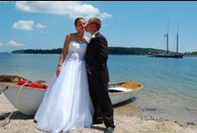 Maine Weddings / Maine is a perfect destination to share nuptials and to begin a new life together. Spectacular scenery, breathtaking venues and spots, and memories to last a lifetime. / by Visit Maine