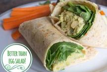 Meatless Menu: Lunch / Meatless Monday lunch recipes from across the web. / by Meatless Monday