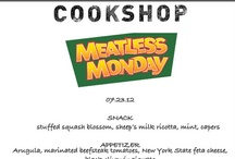 MM Restaurant Menus / Sample menus from Meatless Monday Restaurants across the US! http://www.meatlessmonday.com/meatless-monday-restaurants/ / by Meatless Monday