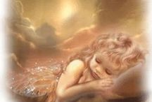 Sweet Gabriella... / Angel on my shoulder... / by Jean Mayo