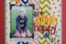 Growing Up!  Scrapbook Ideas / Scrapbook layout ideas for children
