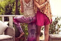 ❤️Fun Boho Fashion  / Love them funky styles! Not into the stuffy straight look! Love the Boho style and clothing needs to represent fun airy and freedom to me!  / by Holland❤️