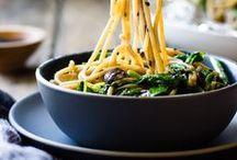 Comfort Food  |  Noodles / A big bowl of slurpy noodles is the ultimate comfort food.