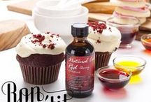 Baking Flavors / We love color! Ours are all made from plants, with absolutely nothing artificial about them.