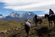 Live like a Gaucho / Patagonia by horse is a unique way to explore the region's vast mountains, forests and lakes and gives you access to places that you wouldn't otherwise be able to reach.  http://www.swoop-patagonia.co.uk/patagonia/horse-riding/