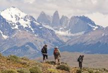 Trekking Patagonia / Trekking through the beautiful landscape of Patagonia.   http://www.swoop-patagonia.co.uk/patagonia/trekking/