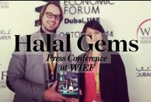 Halal Gems Press Conference at The WIEF / Press conference on our new digital magazine, at the World Islamic Economic Forum in Dubai