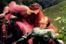 Edmund Blair Leighton Art / The ultimate Romanticist.  / by Jean Mayo