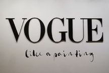 Vogue Like a Painting / This exhibition encompasses sixty fashion photographs that take their inspiration from classical painting, housed in the archives of Vogue magazine and taken by eminent photographers of the last three decades. / by Museo Thyssen-Bornemisza