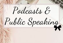 Podcasts & Public Speaking / public speaking tips and tricks