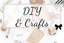 DIY Crafts / Organize those craft supplies (mason jars, wrapping paper, washi tape, popsicle sticks, etc) so you can enjoy your DIY projects, like wine bottle art, in a relaxing environment.