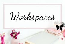 Workspaces / Transform your small office into a winning space, perfect for your WAHM and entrepreneurial tasks with great furniture and space-saving storage.