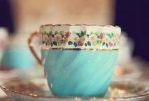 Tea Cups & More / I collect tea cups & saucers / by Karen Cole