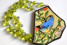 Made With Old China & Glass / I have always loved vintage china / by Karen Cole