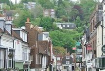 Lovely Lewes in East Sussex UK