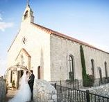 Bella Donna Chapel Wedding Photos / Wedding photo ideas at Bella Donna chapel in McKinney Texas.  Vintage, classic Italian chapel church.