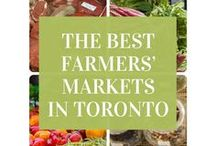Toronto Farmers' Markets / There are many places in our city where to look for fresh fruit, vegetables and other produce.