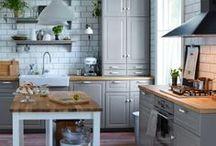 Kuchyň / Kitchen / Perfektní nápady na kultivaci vaší kuchyně.