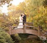 Japanese Garden | Fort Worth, TX / Engagements, Romantic, Japanese, Culture, Surprise, Bridals, Bouquet, Dresses, Floral, Greenery, Sunsets, Couples, Love, Have to have, Look
