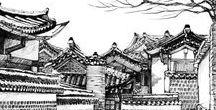 drawings / drawings by Bang,  Chulrin