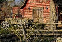 Country Barns are Beautiful !!!! / by DeeAnn Donovan Blumberg