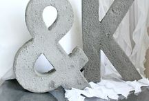 Crafty letters / by Julie Peterson