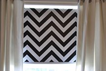DIY curtains / by Julie Peterson
