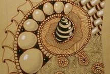 ZENTANGLE / Ideas for your new life as a Zentangler.  / by Calimyrna Moon