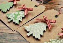 DIY Christmas Ideas / All things Chistmasy: Christmas decorations, lighting, gift wrapping ideas