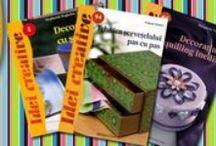Carti despre tehnici Handmade / Carti despre cele mai imortante tehnici handmade, Art Craft etc.