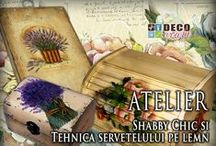 Shabby Chic / Tehnici de antichizare si invechire Chabby Chic ce se pot invata la atelierele Deco Craft. Shabby French, Shabby Cottage, Shabby Vintage, Shabby Urban, Shabby Victorian http://www.decocraft.ro/ateliere-creativitate/