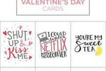 Valentine's Day Ideas / DIY Projects & Recipes just for Valentine's Day. A little something for everyone!