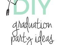 Graduation Party Ideas / Ideas, food, games and printables pertaining to graduation parties. Everything to host a fantastic graduation party!