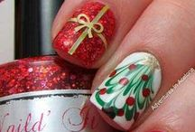 Nail Art - Christmas and Winter Holidays / All things Nail Art - For Christmas and Winter Holidays / by The Sparkle Queen