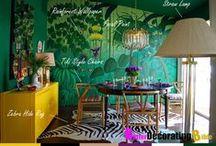Tiki Inspiration / Tiki, kitsch, mid-century modern, tiki bars, tiki design, bamboo, tiki dining, vintage tiki