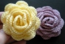 Crochet flowers / by Esther Harris