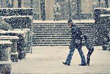 """Winter time / """"- Hu! hu! ha! Hu! hu! ha! Nasza zima zła! Szczypie w nosy, szczypie w uszy, Mroźnym śniegiem w oczy prószy, Wichrem w polu gna!"""" (Maria Konopnicka)"""