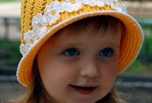 Crochet for children - hats / by Esther Harris