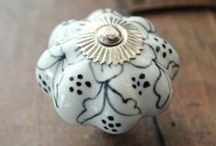 Ceramic Drawer Knobs - Cabinet Knobs / With their fun colors, patterns, and textures, beautiful ceramic knobs are a unique way to add flair to your home. Ceramic cabinet pulls by DaRosa Creations are perfect for a bathroom because these easy-to-install knobs add a touch of whimsy without compromising functionality. They also go perfectly on a bedroom dresser for an antique look you can enjoy as you drift off to sleep. Giving your furniture a fantastic upgrade has never been quicker or easier with these drawer knobs.