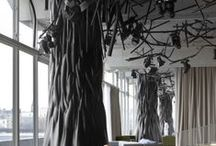 Rooms with trees