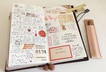 Midori Travel Journals / All things Midori Travelers Journals