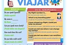Spanish to travel | Spanish learning tips * / Are you planning a trip to a Spanish speaking country? Want to learn Spanish to travel? Find here Spanish learning tips, how to learn Spanish, Spanish learning resources, where to learn Spanish, and more