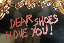 I have a passion for shoes ♥